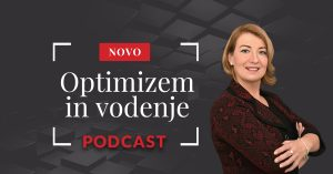 Podcast - optimizem in vodenje